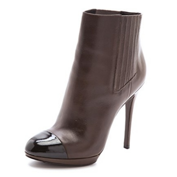 clearance wide range of discount very cheap B Brian Atwood Fragola Cap-Toe Ankle Boots amazon online ZIv2GQz